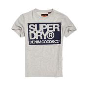 Superdry T-shirt Logo Licht Grijs (M1000003A - 07Q)