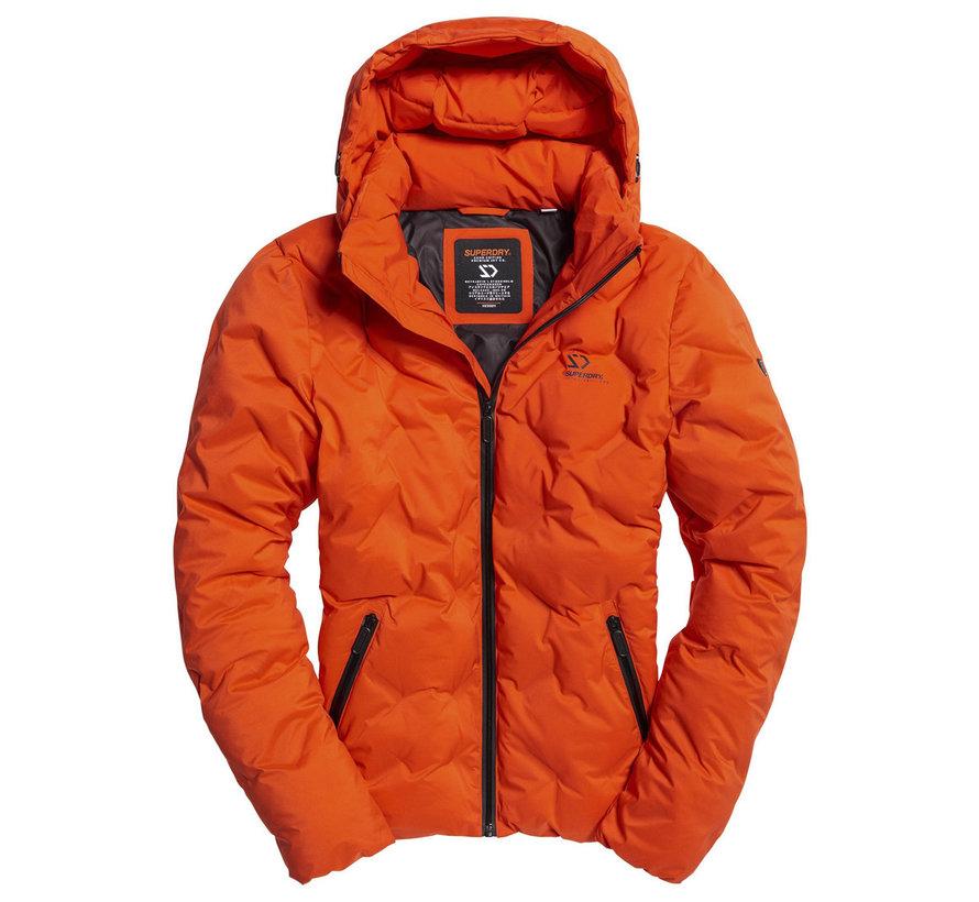 Winterjas met Capuchon Oranje (M5000066A - N6H)
