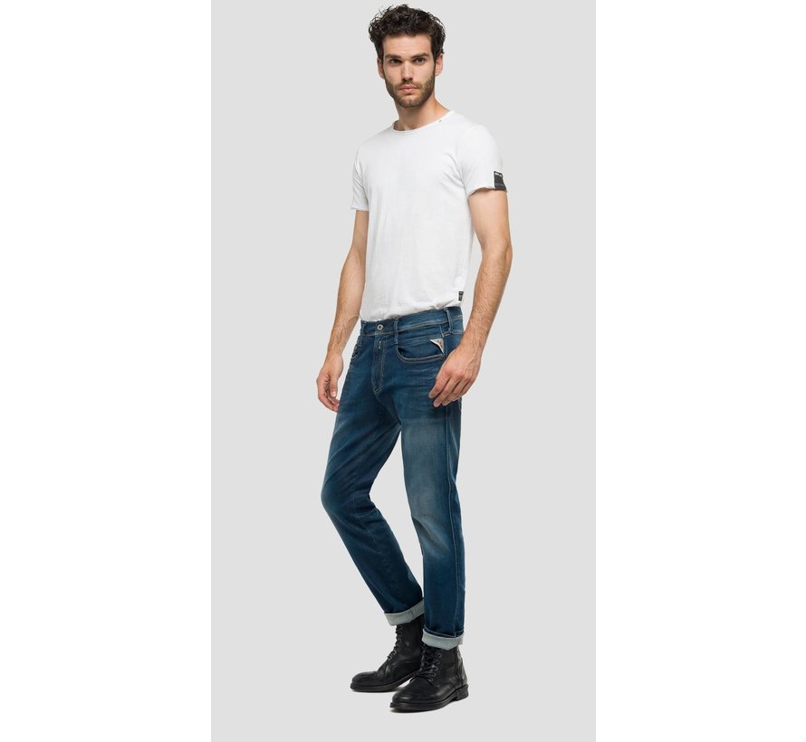 Jeans Anbass Hyperflex Slim Fit (M914 661 604 - 007)