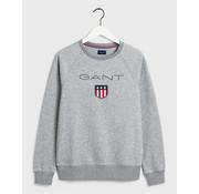 Gant Sweater Logo  Grijs (2046004 - 93)