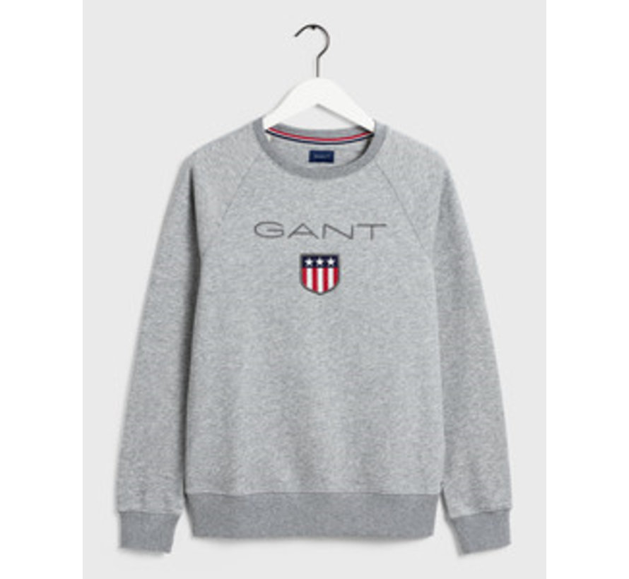 Sweater Logo Grijs (2046004 - 93)