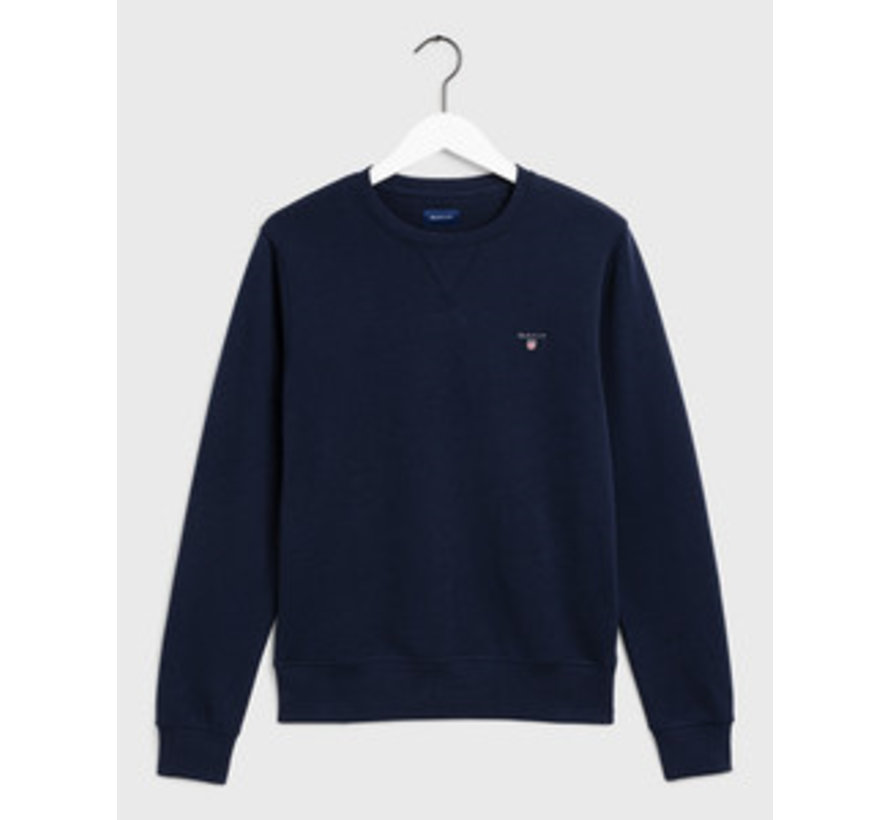 Sweater Ronde Hals Navy (2046010 - 433)