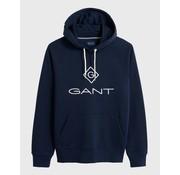 Gant Hooded Sweater Logo Navy (2047054 - 433)