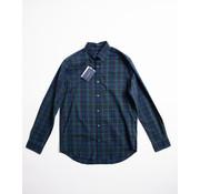 Gant Overhemd Ruit Navy/Groen (3020330 - 328)