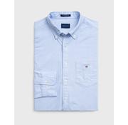 Gant Overhemd Oxford met Borstzak Blauw (3046000 - 468)
