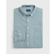 Gant Overhemd Ruit Groen/Navy (3056500 - 373)