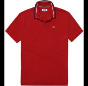 Tommy Hilfiger Polo Regular Fit Rood (DM0DM05509 - 602)