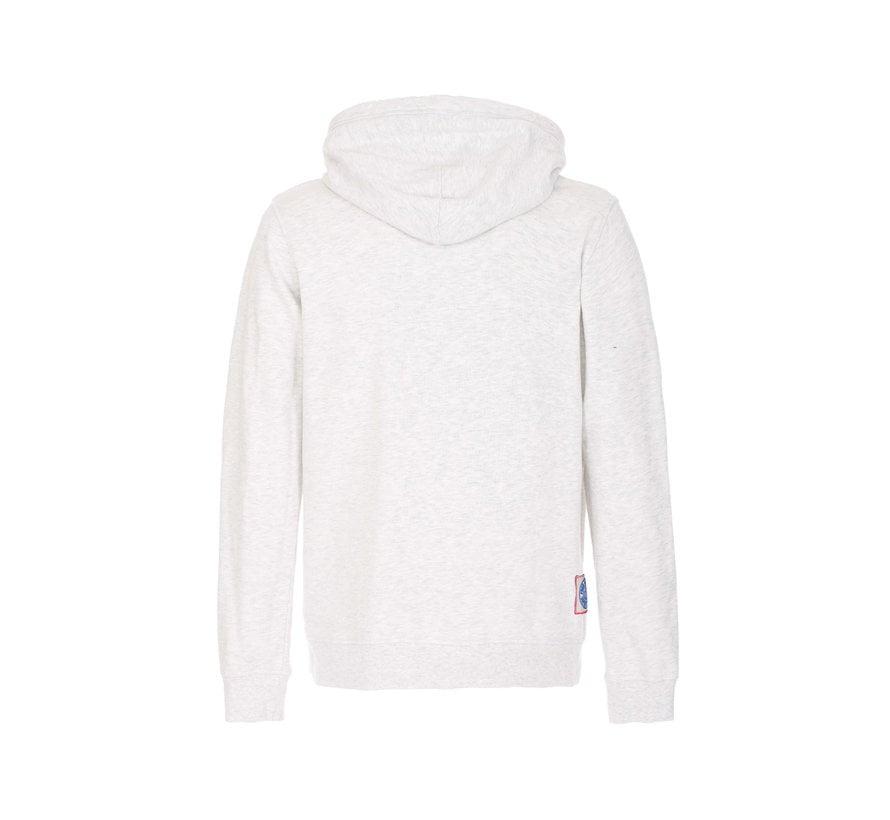 Hooded Sweater Logo Ivory Grijs (FM19W04FC - 239)
