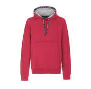 Fred Mello Hooded Sweater 3D Opdruk Rood (FM19W15FC - 351)