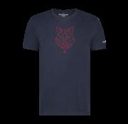 Haze & Finn T-shirt Husky Embro Dark Navy - Jazzy (MU12-0006)