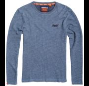 Superdry Longsleeve T-shirt Blauw (M6000011A - Q6R)