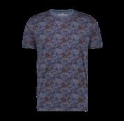 Haze & Finn T-shirt Sublimation Print Blue Jungle (MU12-0002)