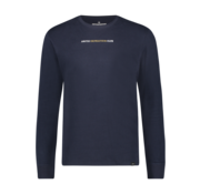 Haze & Finn T-shirt Lange Mouw Quote Dark Navy (MU12-0003)