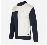Blue Industry Trui Navy/Wit (KBIW19 - M22 - Offwhite)