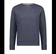Haze & Finn Sweater Dark Navy Melange (MU12-0402)