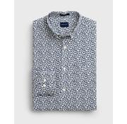 Gant Overhemd Print Eggshell Navy (3004970 - 113)
