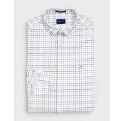 Gant Overhemd Oxford Ruit Wit (3005470 - 437)