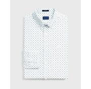 Gant Overhemd Print Stippen Wit (3005770 - 302)