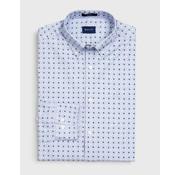 Gant Overhemd Print Stippen Blauw (3005770 - 420)