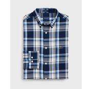 Gant Overhemd Ruit Print Navy (3019730 - 989)