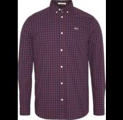 Tommy Hilfiger Overhemd Burgundy Ruit (DM0DM06935 - VA2)