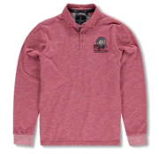 New Zealand Auckland Lange Mouw Polo Red (19GN204 - 687)