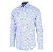 Blue Industry Overhemd Print Lichtblauw (1142.92)