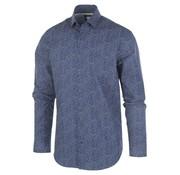 Blue Industry Overhemd Print Navy (1158.92)