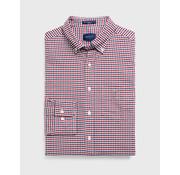 Gant Overhemd Ruit Rood/Navy (3056500 - 617)