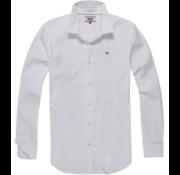 Tommy Hilfiger Overhemd Slim Fit Wit (DM0DM04405 - 100)