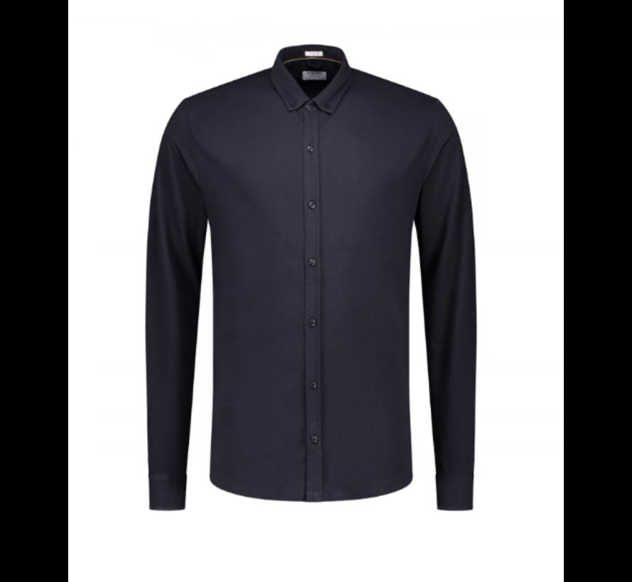 Overhemd Dark Navy (202446 - 649)