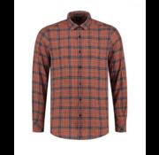 Dstrezzed Overhemd Herringbone Check Oranje (303248 - 439)