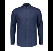 Dstrezzed Overhemd Denim Dark Indigo (303274 - 640)