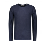 Dstrezzed Sweater Cooper Acid Stripe Navy (404186 - 669)