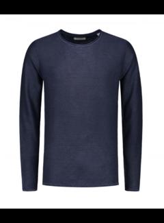 Dstrezzed Sweater Cooper Acid Stripe Navy (404186 - 669)