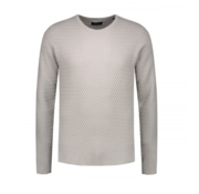 Dstrezzed Sweater Fancy Structure Light Grey (404196 - 810)