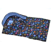 Culture Overhemd Extra Mouwlengte Multicolor Cirkels (513976 - 39 - ME)