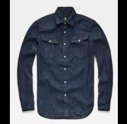 G-star Jeans Overhemd 3301 Dark Wash (D12698-D013-082N)