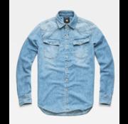 G-star Jeans Overhemd 3301 Medium Wash (D12698-D013-071N)