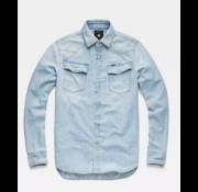 G-star Jeans Overhemd 3301 Light Wash (D12698-D013-424N)