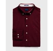 Gant Overhemd Solid Pique Bordeaux (3002560 - 605)