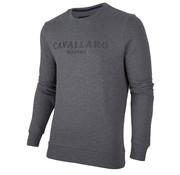 Cavallaro Napoli Sweater Mirko Logo Antractiet (2095003 - 83000)
