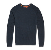 Superdry Orange Label Cotton Crewneck Ocean City Blue Grindle (M6100025A - W6Q)