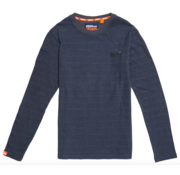 Superdry Lange Mouw T-shirt Orange Label Twill Texture (M6000011A - U6K)