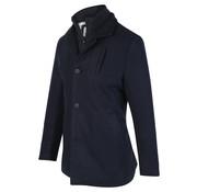 Blue Industry Winter Coat Gevoerd Navy (OBIW19 - M31 - Navy)