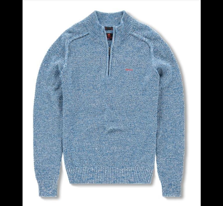 Half-Zip Pullover Wairaurahiri Blauw (19HN413 - 343)