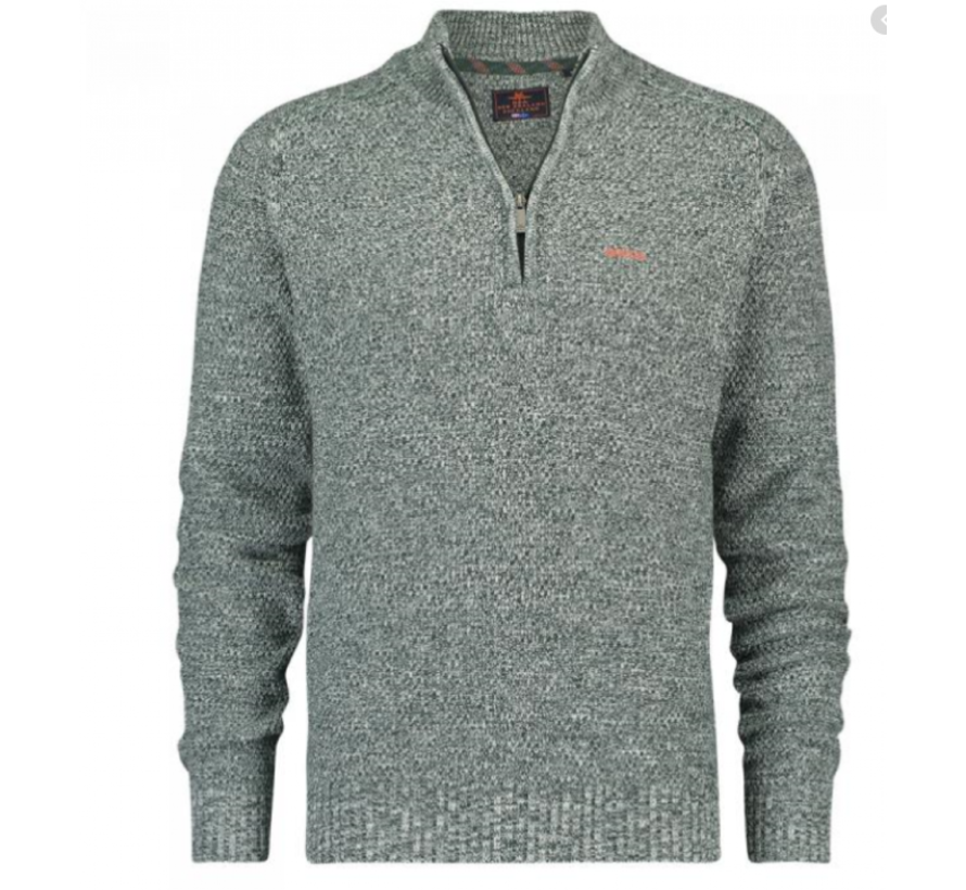 Half-Zip Pullover Wairaurahiri Groen (19HN413 - 449)
