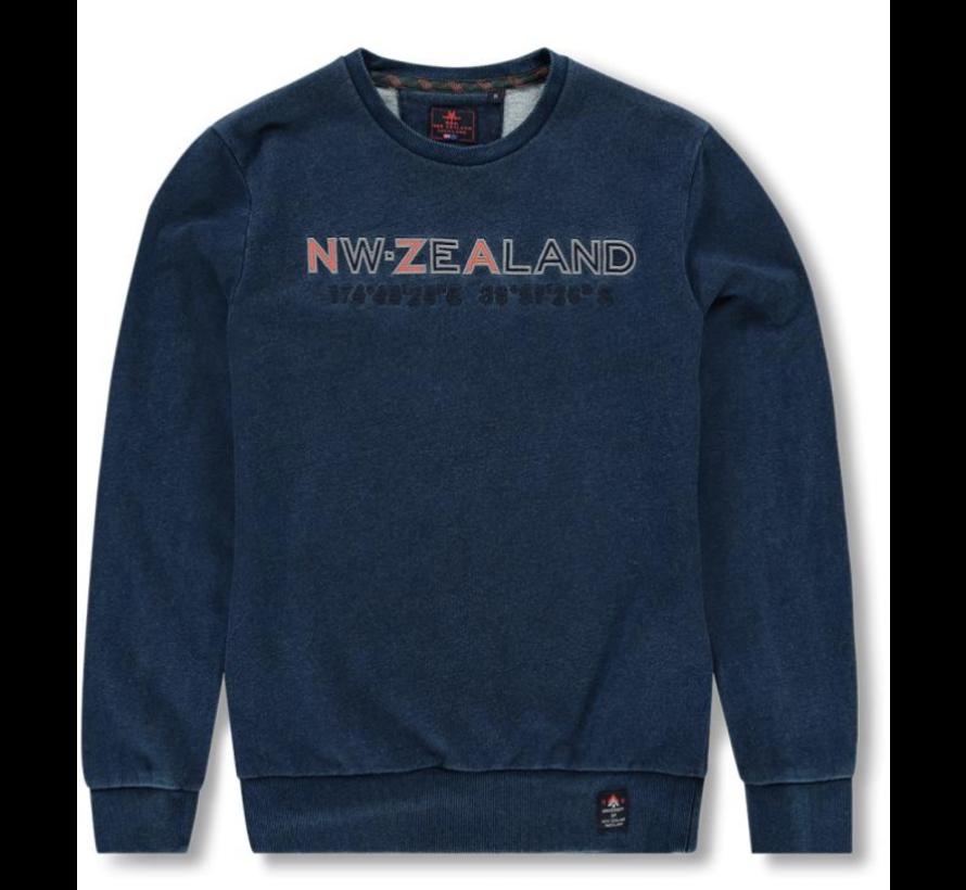Sweater Tangowahine Opdruk Blauw (19HN325 - 396)