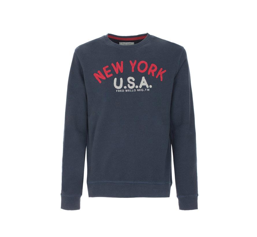 Sweater Tekst New York (FM19W11FG - 684)