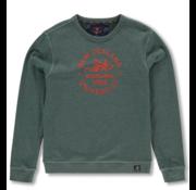 New Zealand Auckland Sweater Waitakerenile  Logo Groen (19HN308 - 449)
